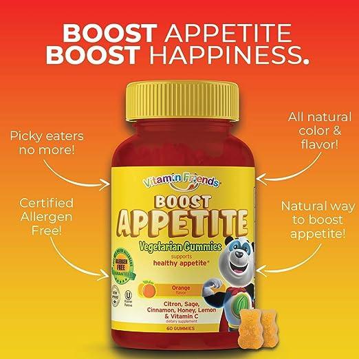 Amazon.com: Vitamina Amigos y Boost apetito Suplemento Dieta ...