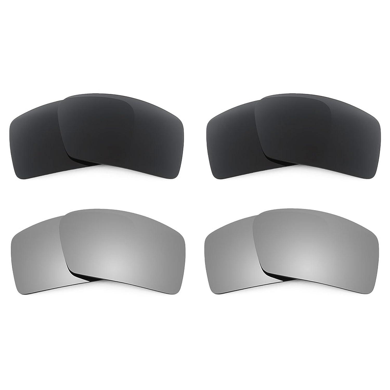 Oakley Eyepatch 1 用Revant交換レンズ 偏光4 ペアコンボパック K021   B01CGXPZ6W