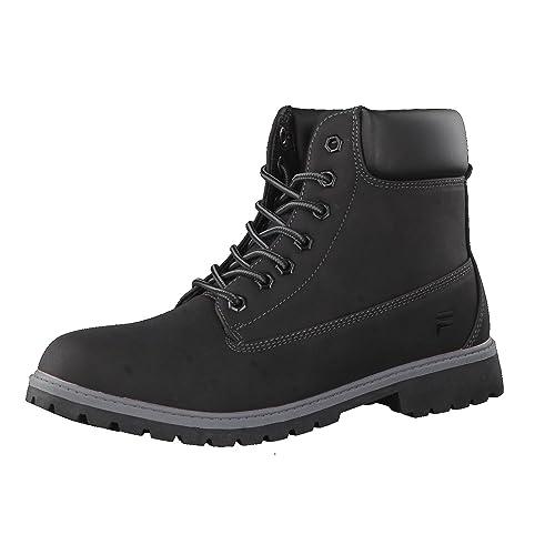 prix plancher magasiner pour le meilleur moitié prix Fila Men Boots Base Maverick Mick Black 44: Amazon.co.uk ...