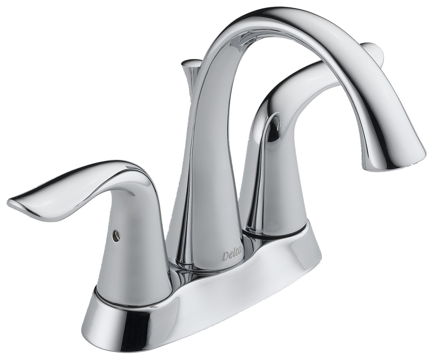 Delta Faucet 2538LF-CZMPU Lahara Two Handle Centerset Bathroom ...
