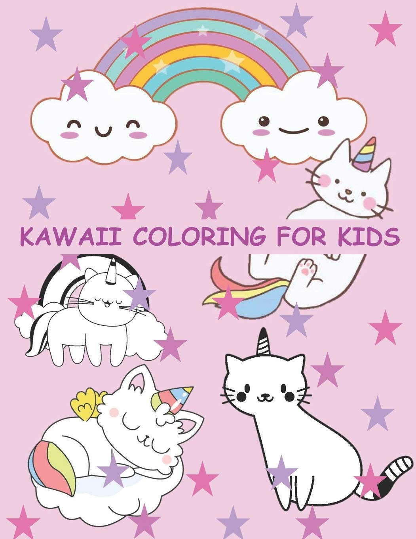 - Amazon.com: Kawaii Coloring For Kids: Kawaii Coloring Pages
