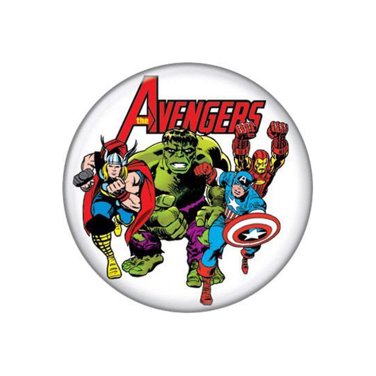 Avengers Kirby Grupo 3 Botón