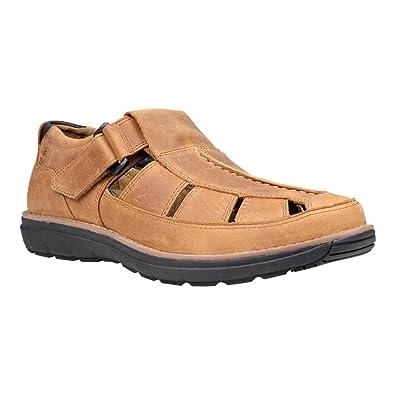 132269519665 Timberland Barrett Park Barrett Fisherman – Closed-Toe Sandal Men Brown  Size  15 UK
