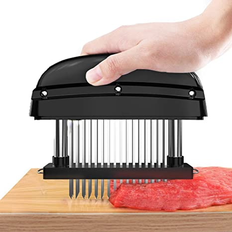 Amazon.com: Tenderizador de carne, batidora manual de carne ...