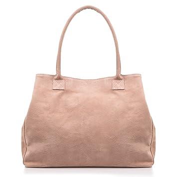 FIRENZE ARTEGIANI.Damentasche aus echtem Leder.Handtasche