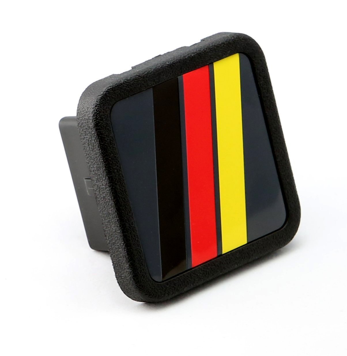 LFPartS Germany Flag Trailer Hitch Cover Tube Plug Insert Fits 2'' Receivers by LFPartS