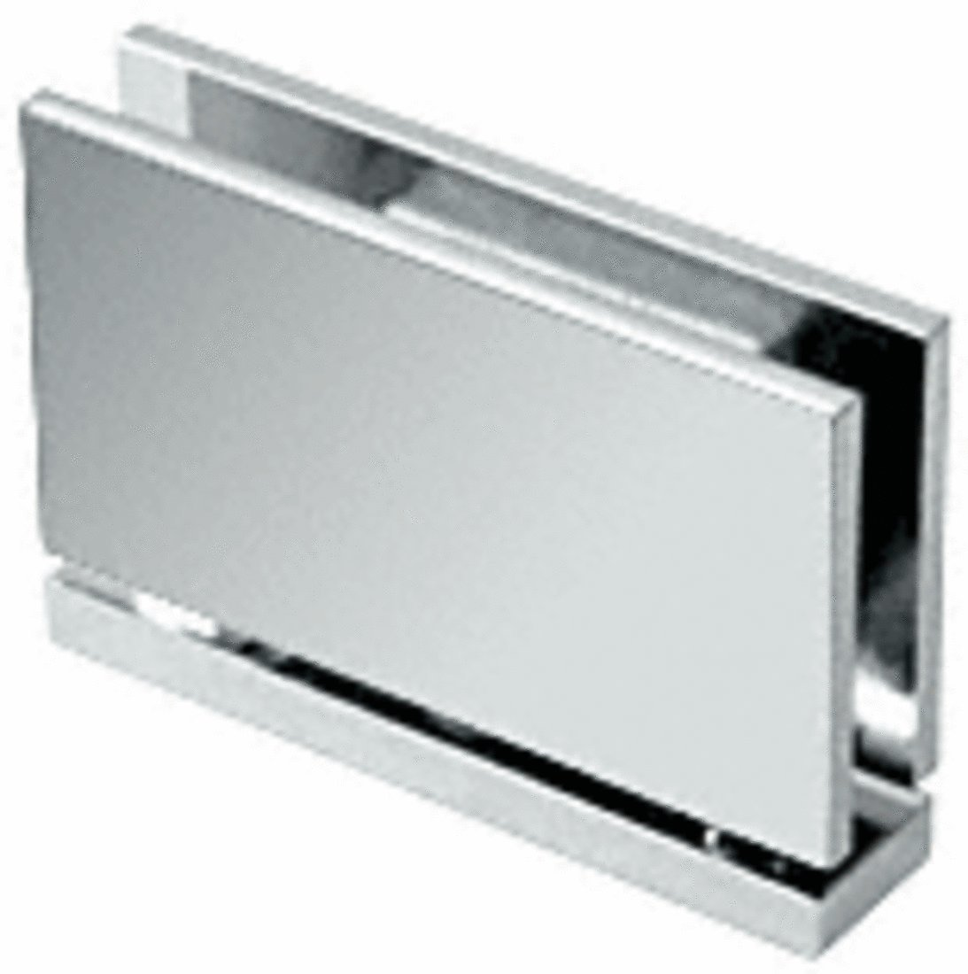 CRL Cardiff Series Chrome Top or Bottom Mount Hinge