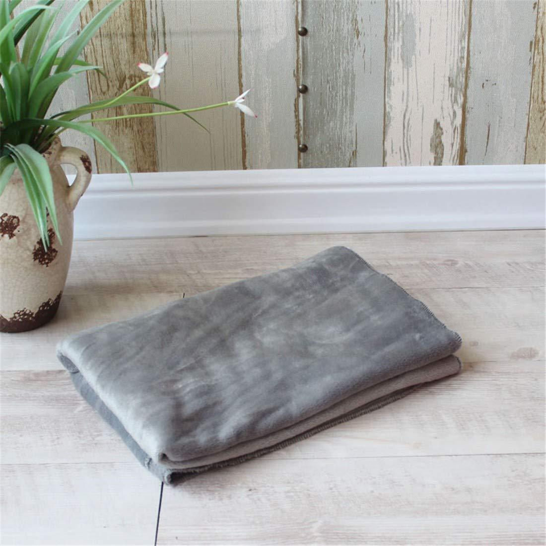 Grey90×70cm Desti Flakes Pet mat pet Blanket Warm Blanket pet Supplies (color   Grey90×70cm)