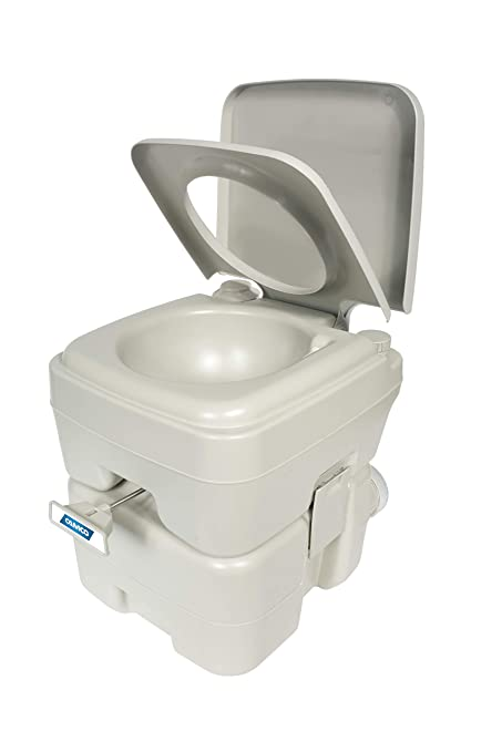 Camco Portable Travel Toilet-Designed for Camping, RV, Boating and Other  Recreational Activities-5 3 Gallon (41541)