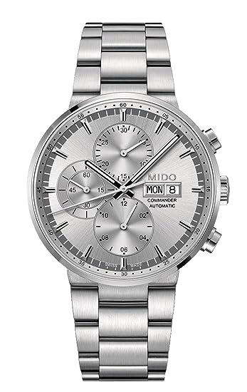 Mido Reloj Multiesfera para Hombre de Automático con Correa en Acero Inoxidable M014.414.11.