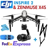 DJI INSPIRE 2 Drone QuadCopter 5.2K/4K 1080 P + Inspire 2 Accessories ZENMUSE X4S+Shoulder Strap +SD Reader
