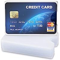 kwmobile 10x Funda Protectora Tarjeta de crédito
