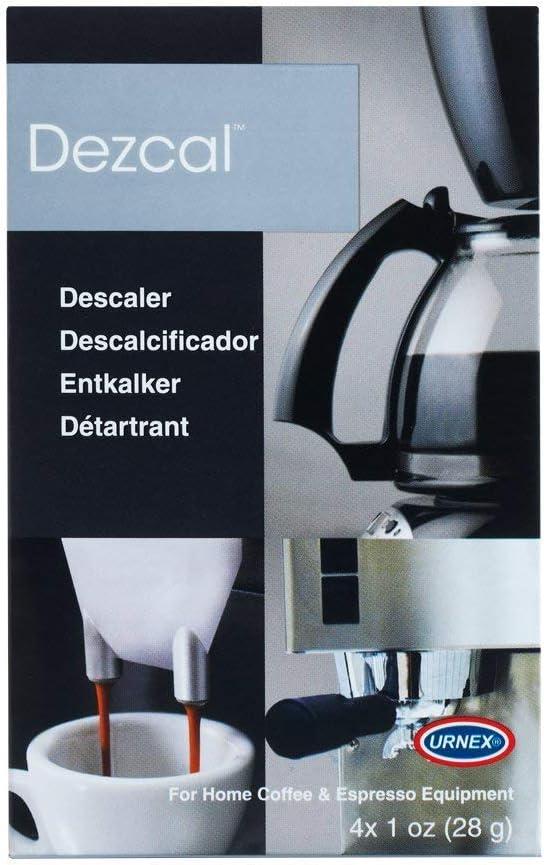 Urnex Dezcal Descalcificador y limpiador de café y expreso – 4 ...