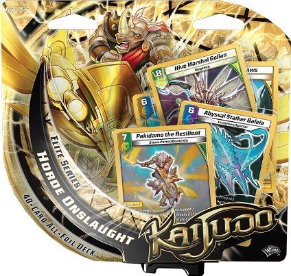 Kaijudo Elite Series Horde Onslaught Premium Foil Deck for sale  Delivered anywhere in USA