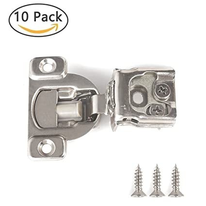 Soft Close Hinge 1 Cabinet Door Hardware Compact Overlay Hinges For