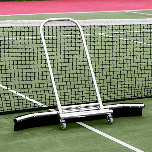 Vermont Rain Shuttle Tennis Court Squeegee - Lightweight & Portable - Ultra-Durable Aluminum [Net World Sports]