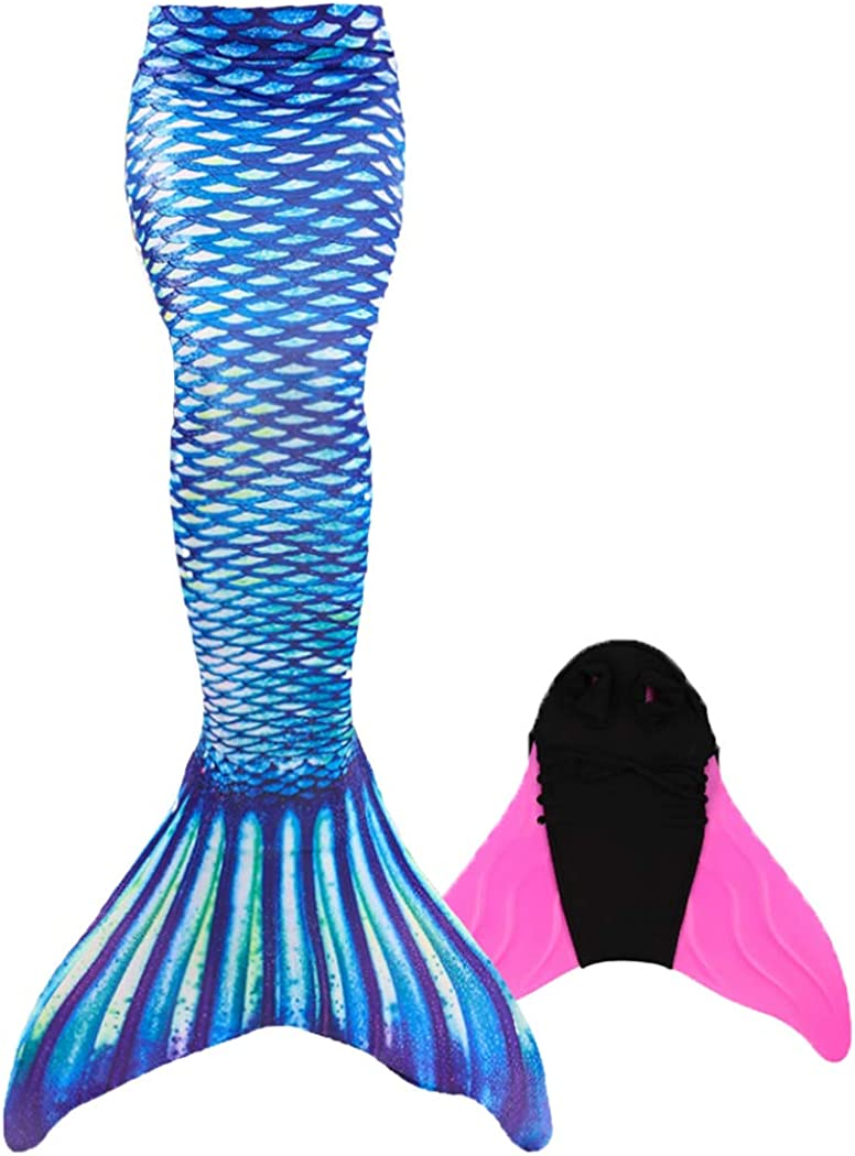 HUTUTU Fiesta de Playa de Cola de Sirena para ni/ñas