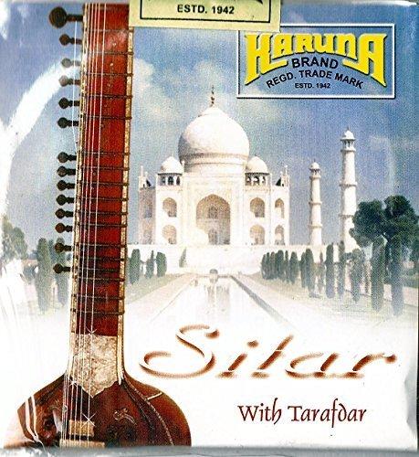 Full set of 18 Top Branded Karuna Indian Sitar Strings 7+11 includes Tarafdar (Sympathetic Strings) S1