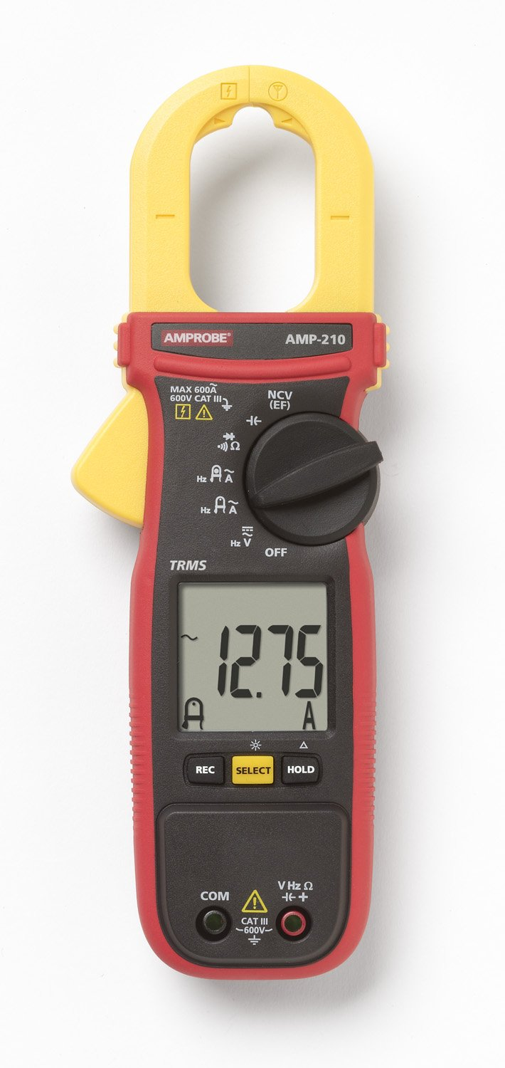Amprobe Amp 210 Clamp Meter Industrial Scientific Amprobes First Tier Advanced Circuit Tracer For Basic Applications