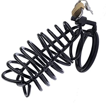 Anillo de jaula, mini cinturón de castidad para hombres, jaula de ...