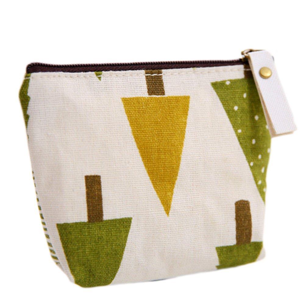 Monbedos Woods Coin Purse Purse Pouch Bag Women Wallet Coin Bag for Coin,Credit Card,Keys,Headset,Lipstick,Card,Lipstick