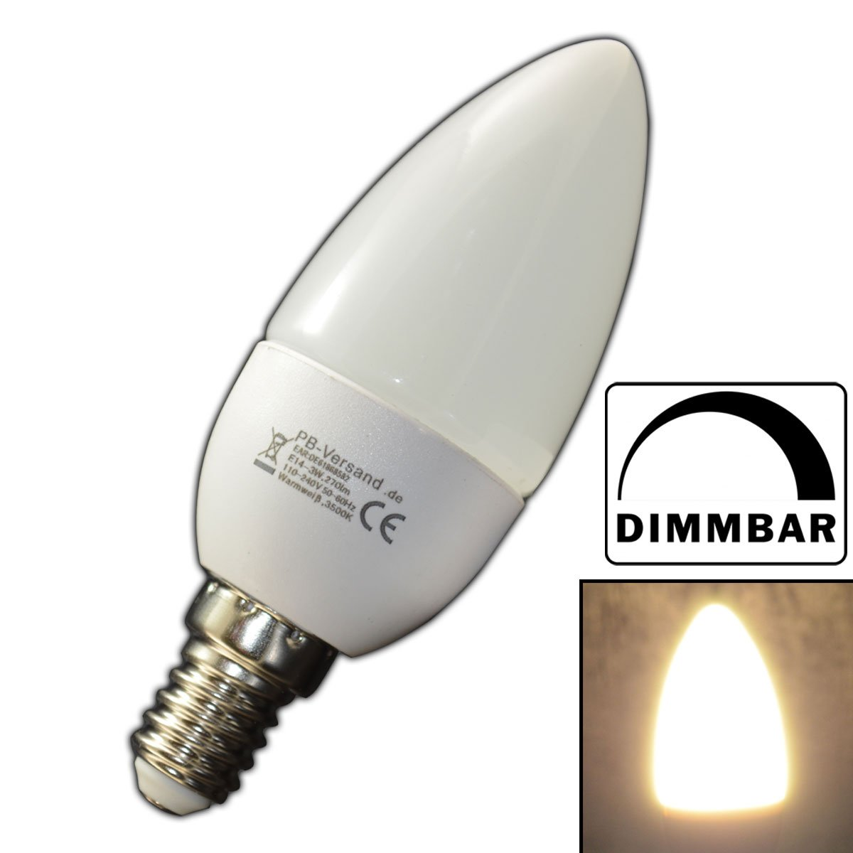 led e14 dimmbar