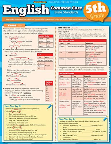 Download English Common Core 5Th Grade (Quickstudy) pdf