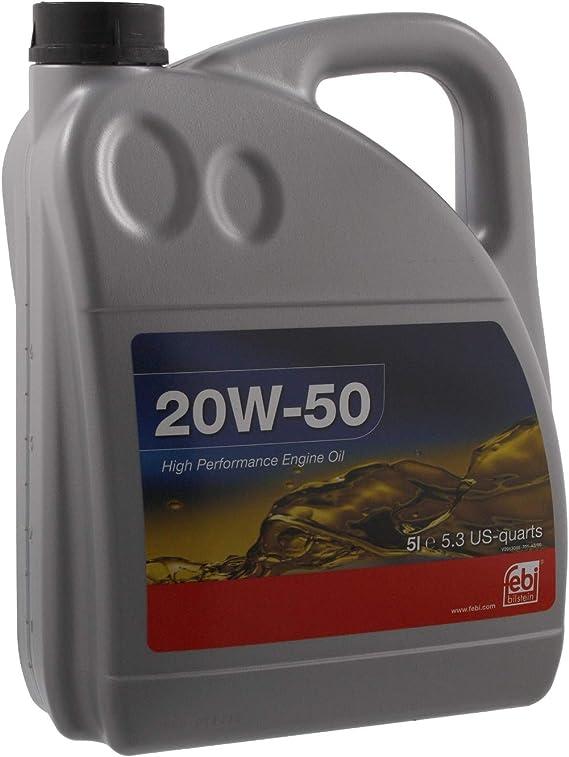 Febi Bilstein 32922 Motoröl Sae 20w 50 5 Liter Auto