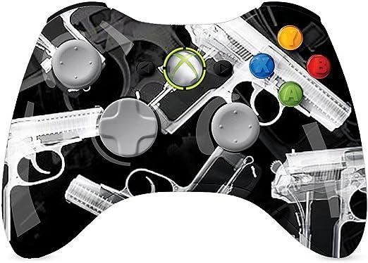 Custom XBOX 360 Controller Wireless armas Xray brillantes Pintado ...