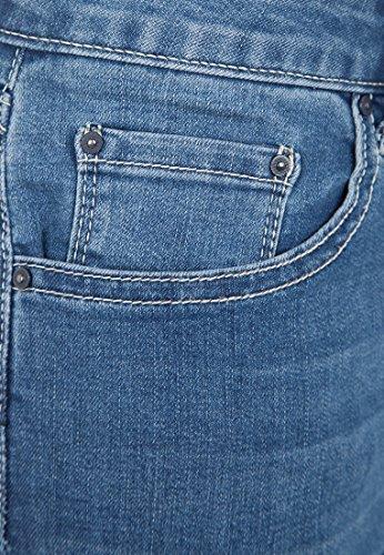 Donna Jeans Attillata Denim Blu Vestino OvZqHwx