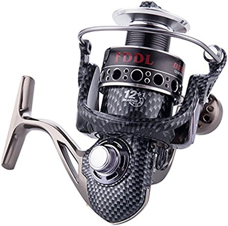 VORCOOL Carrete de pesca spinning 12 + 1 BB Light y Ultra Smooth ...