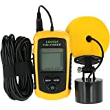 Lixada Portable Fish Detection Sonar Sensor Fishing Finder