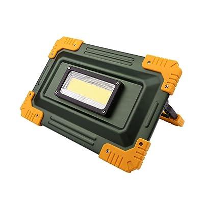 Spotlights 50W tente s'allume la lumière portative de pelouse d'urgence, lumières de lanterne de camping de LED, pour la lampe de pêche de randonnée, banque de puissance, rechargeable, impermé