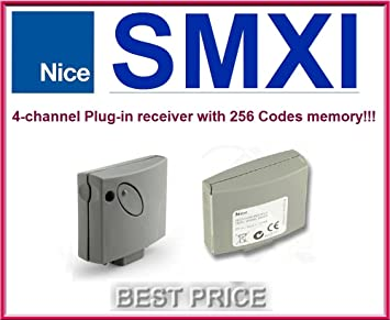 Nice SMXI plug-in Funkempfänger 4-Kanäle Empfänger 433,92MHz Rolling code
