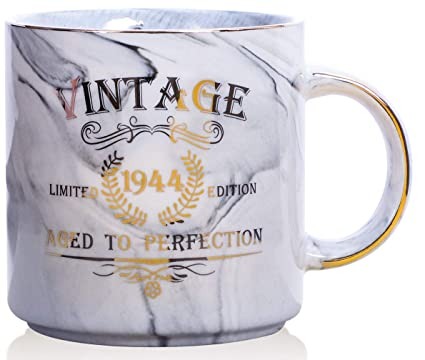 1944 75th Birthday Gifts For Women And Men Ceramic Mug