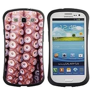 Suave TPU GEL Carcasa Funda Silicona Blando Estuche Caso de protección (para) Samsung Galaxy S3 I9300 / CECELL Phone case / / Pattern Sea Life Nature Sea Diving /