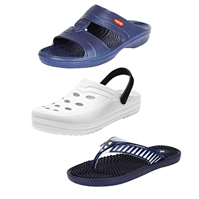 65a820af8 Earton Mens Stylish   Trendy Multicolor Combo Sandals   Floater (COMBO -1019+1010