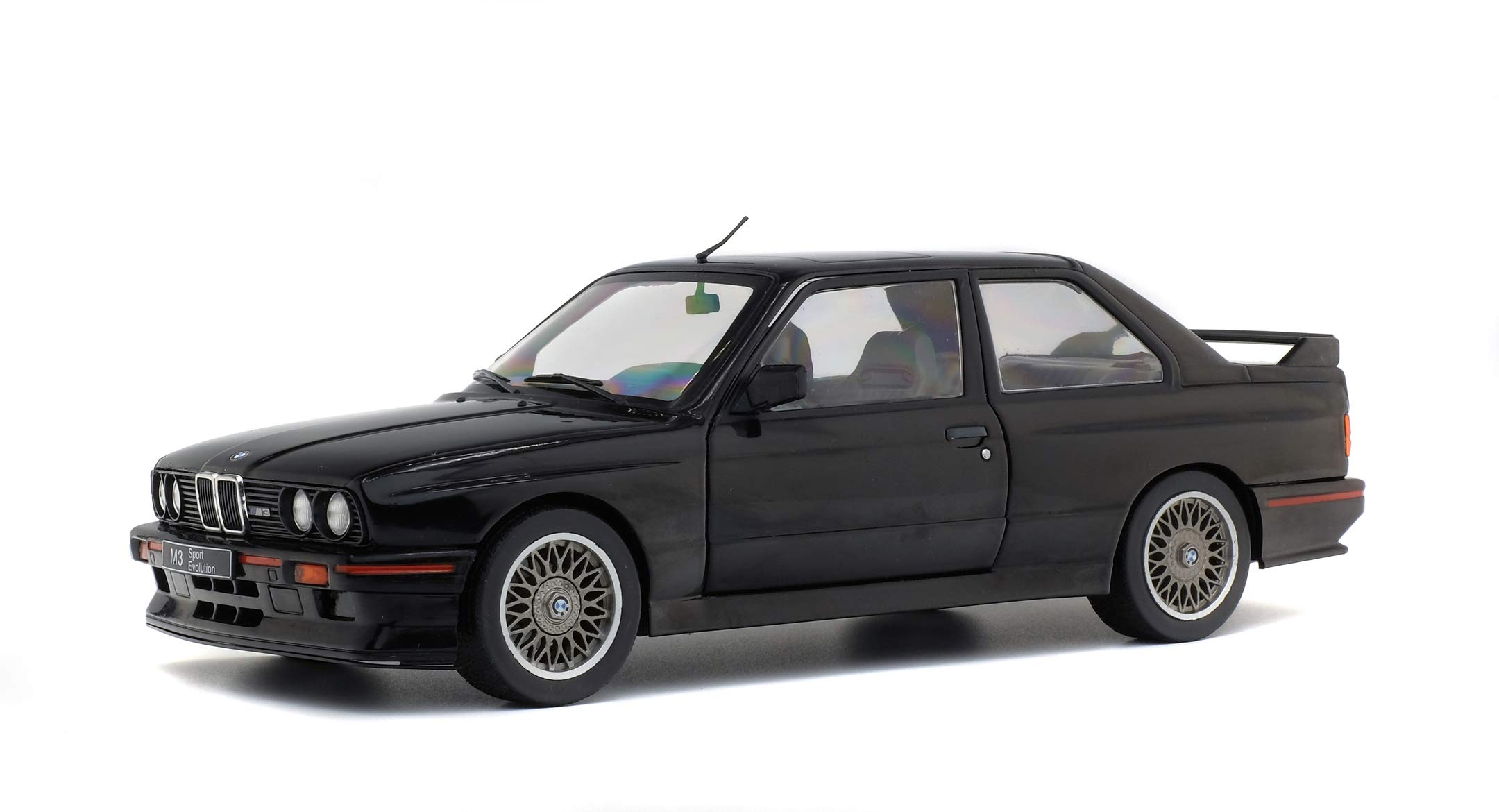 Solido 421184380 Black 1: 18 1990 BMW E30 Sport EVO, One Size