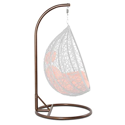 Amazon.com : Hanging Chair Stand and Base Set with Spring Hook Kit ...