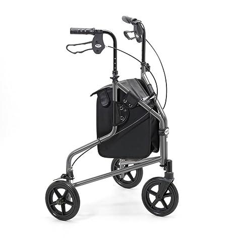 Days 240L - Andador para mayores con tres ruedas, plegable ...