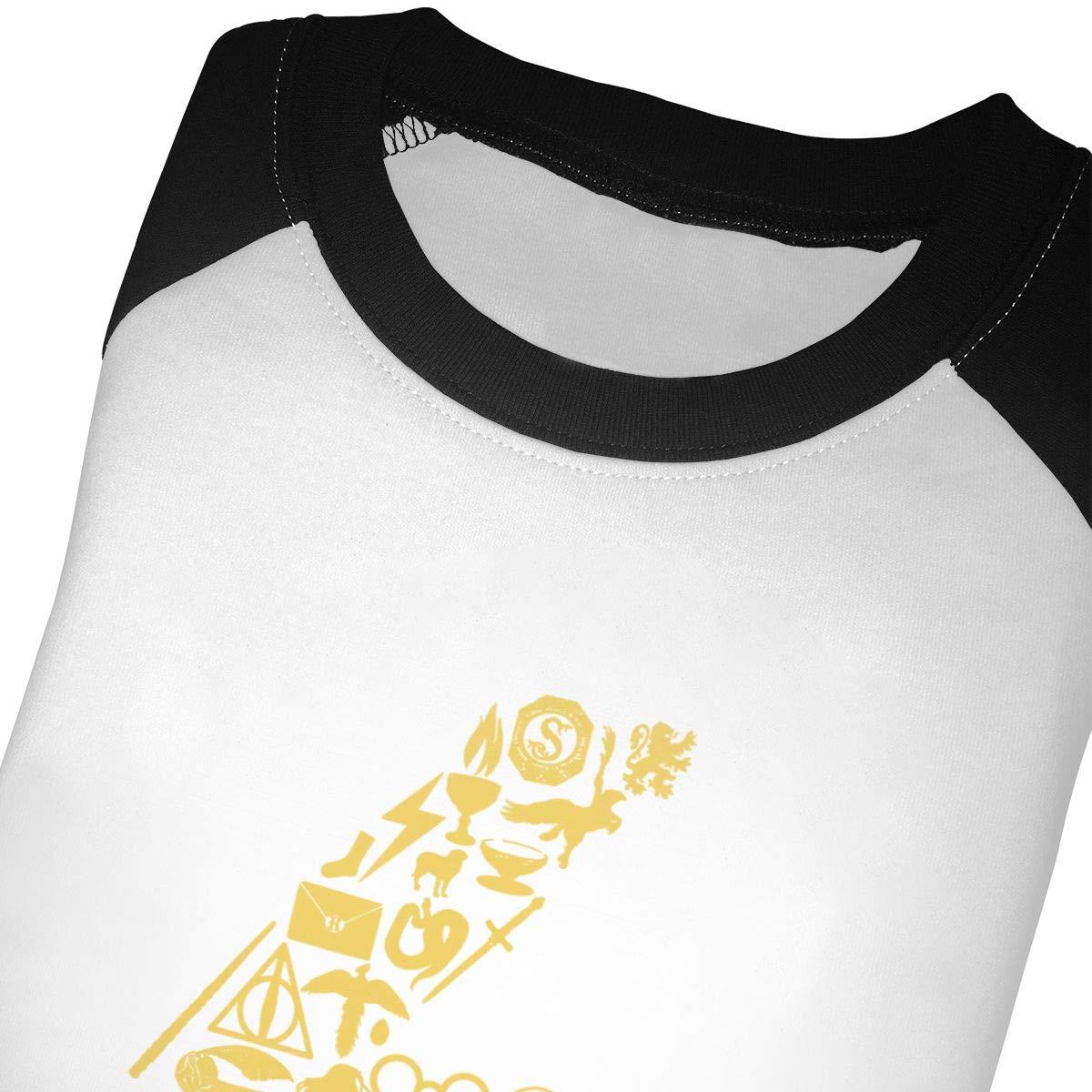 Lightning Bolt Symbols Kids Jersey Raglan T-Shirt Children 3//4 Sleeve Baseball Shirt Top