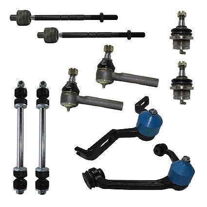 amazon com detroit axle complete 10 piece front suspension kit rh amazon com