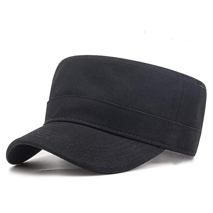 Hombre Cabeza Grande Sombreros para el Sol Hombre Puro Cottont ...