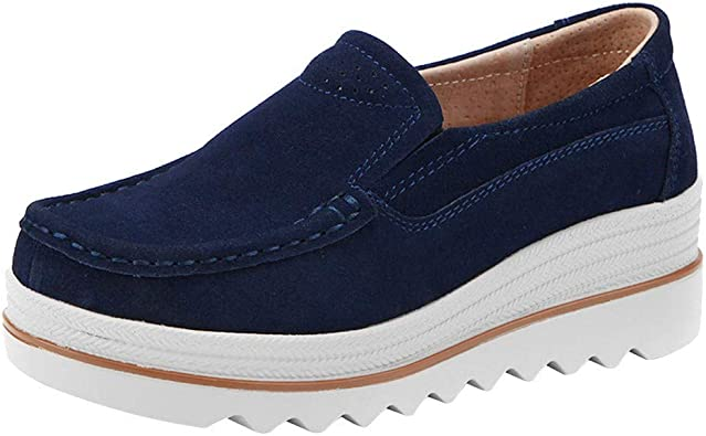 Ladies Flats Muffin Shoes Sneakers