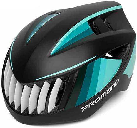 PROMEND Specialized Bicicleta Casco con luz de Seguridad Bike ...