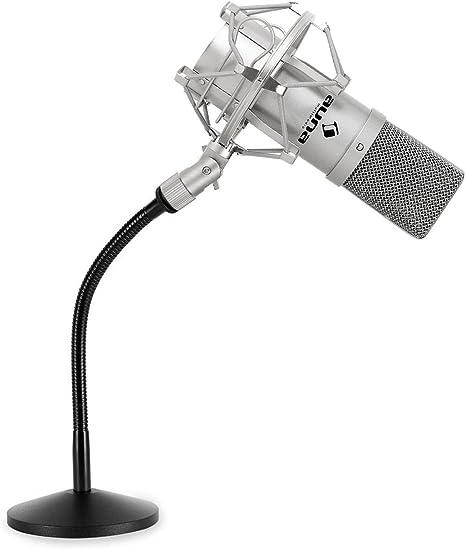 Set de grabación estudio - Micrófono condensador USB con brazo ...