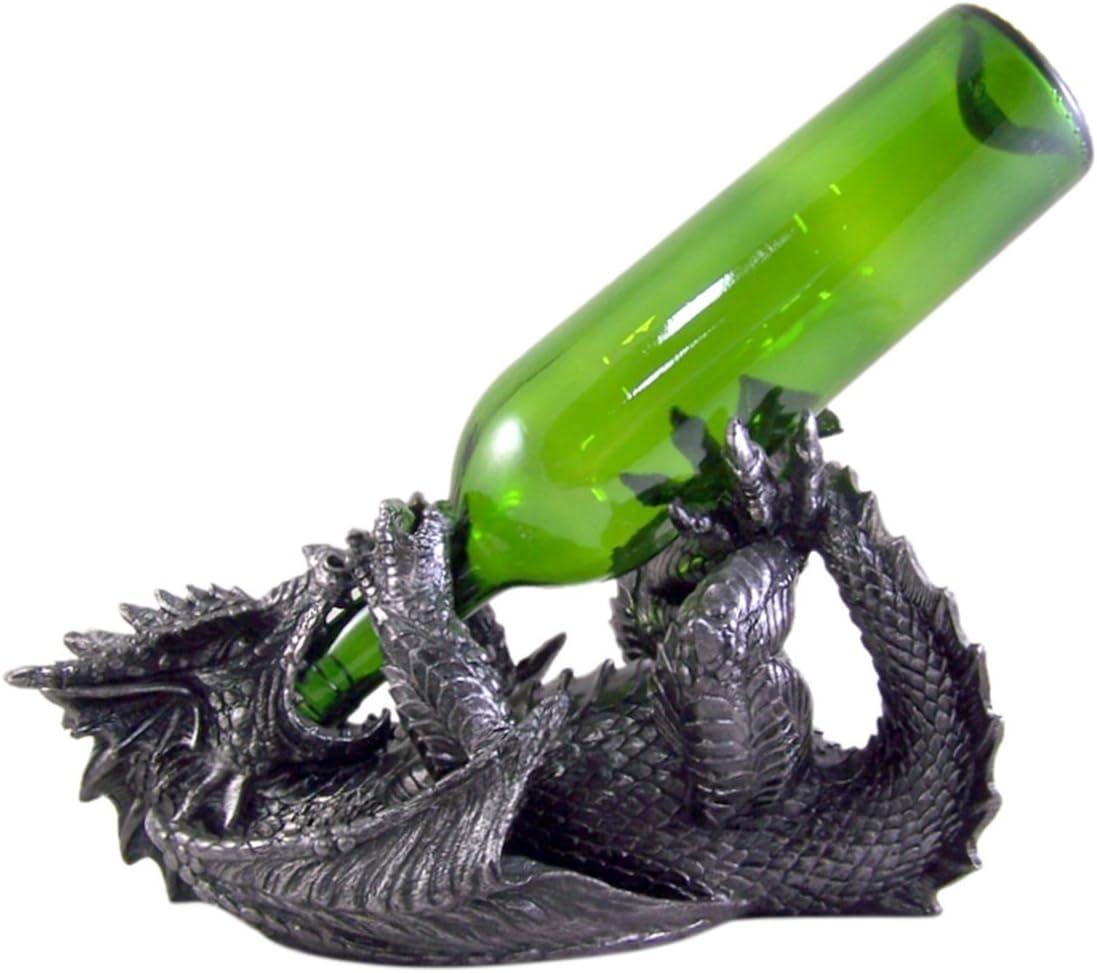Gothic Dragon Wine Bottle Holder 6 3/4 Inch
