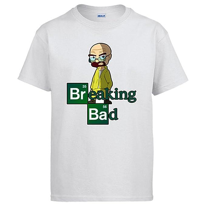 Camiseta Breaking Bad Walter - Blanco, S