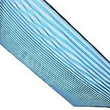 HAIPENG Polyethylene Shade Netting Thicken Encrypted Mesh Tarpaulin Heat Insulation Heavy Duty Breathable Customized (Color : Blue+white, Size : 3x5m)