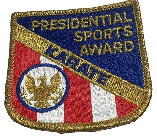 Presidential Patch - Karate - Presidential Sports Award - Vintage Embroidered Patch